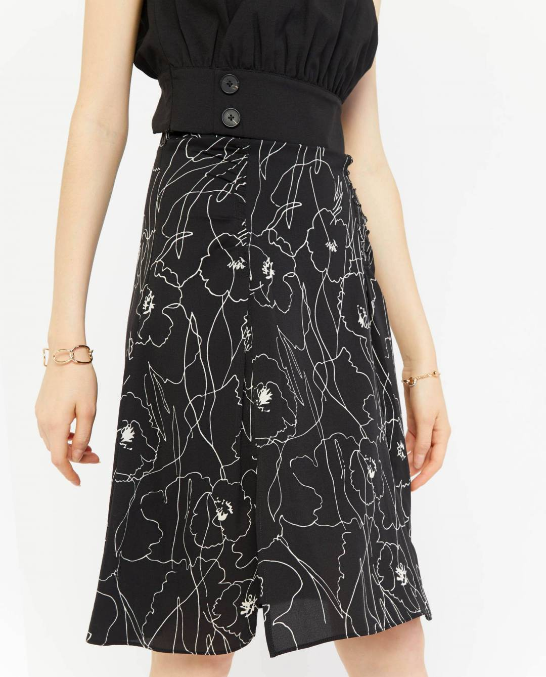 Astrid Abstract Skirt