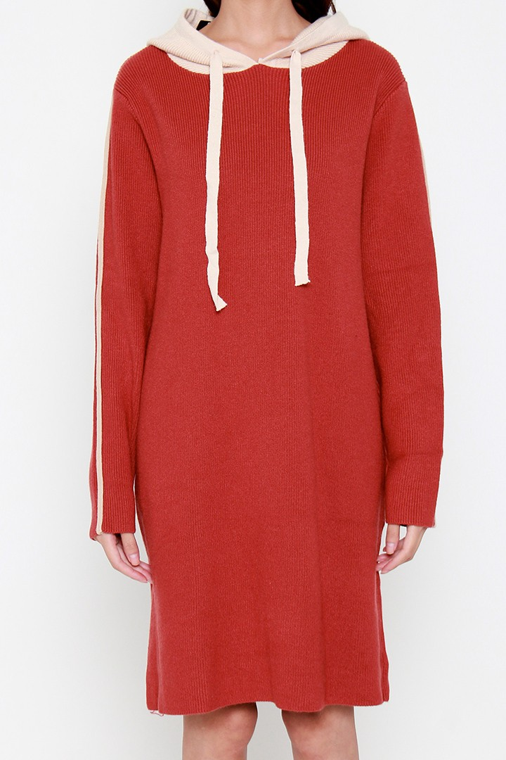Foy Hoodie Knit Dress