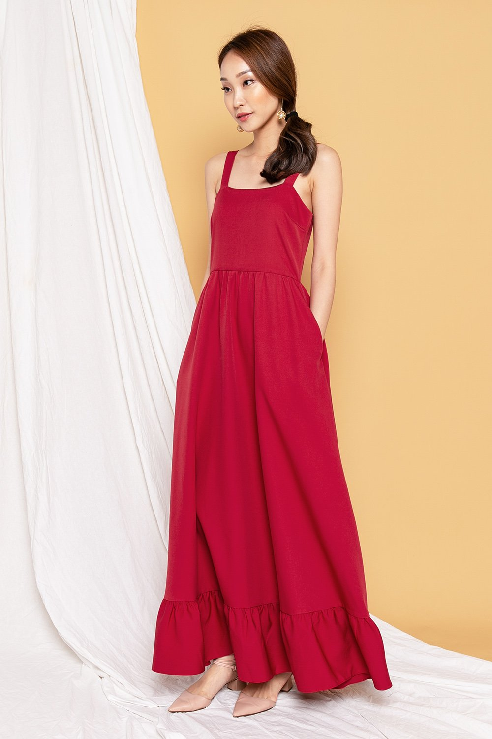 LENNON RED MAXI