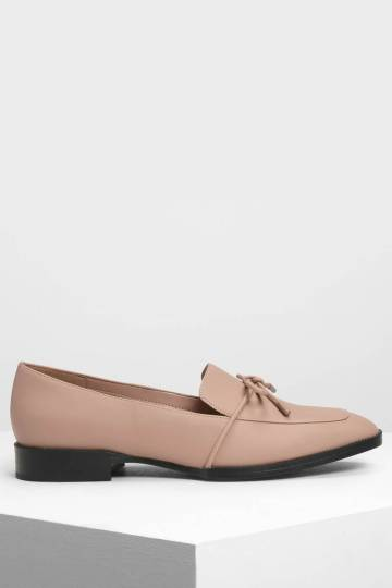 Bow Detail Loafers