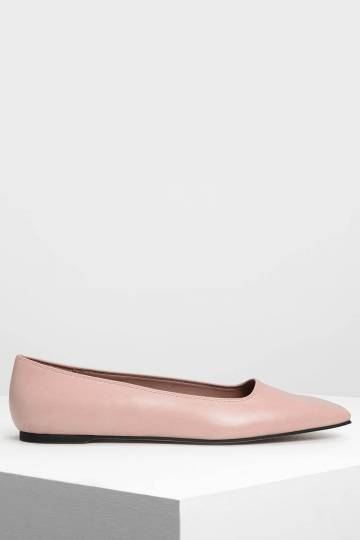 Square Toe Ballerinas