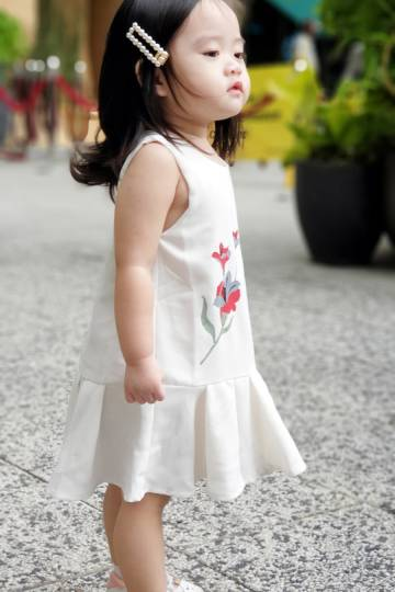 Baby Chenxi Dress White
