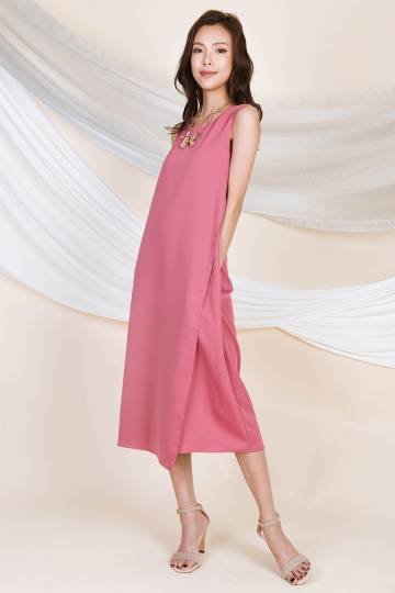 Larissa Midi Tent Dress