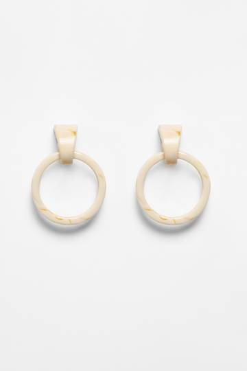 Hemnes Door Knocker Hoop Earrings