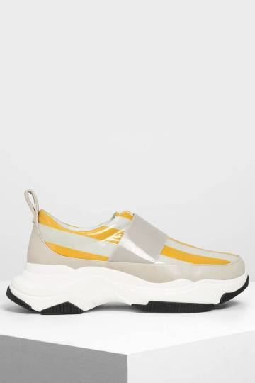Chunky Slip On Sneakers
