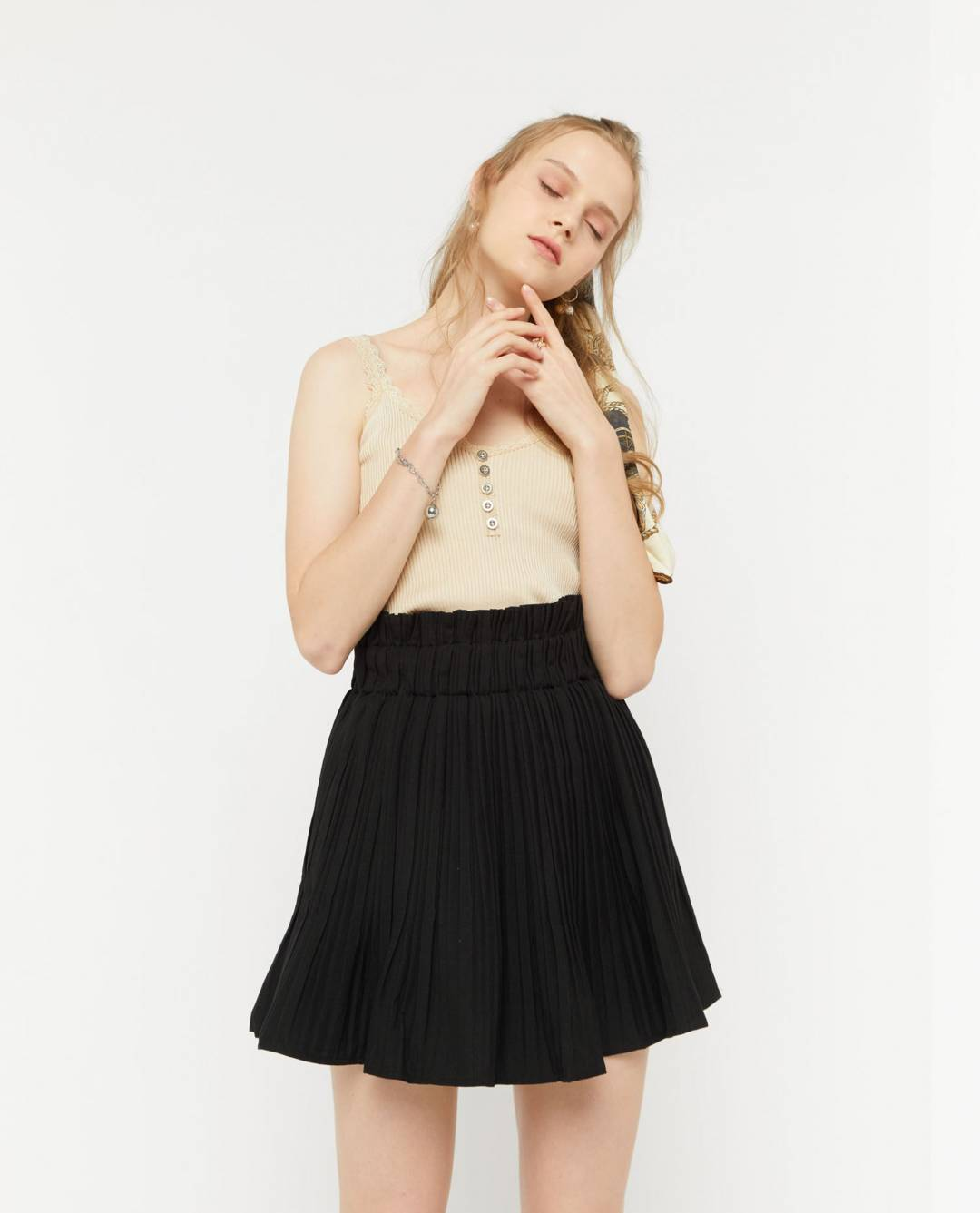 Brigid Pleated Skirt