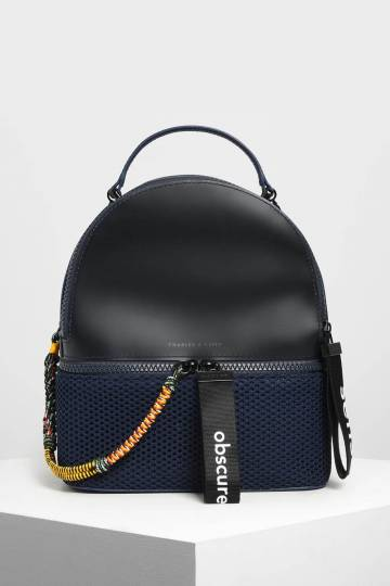 Mesh Detail Backpack