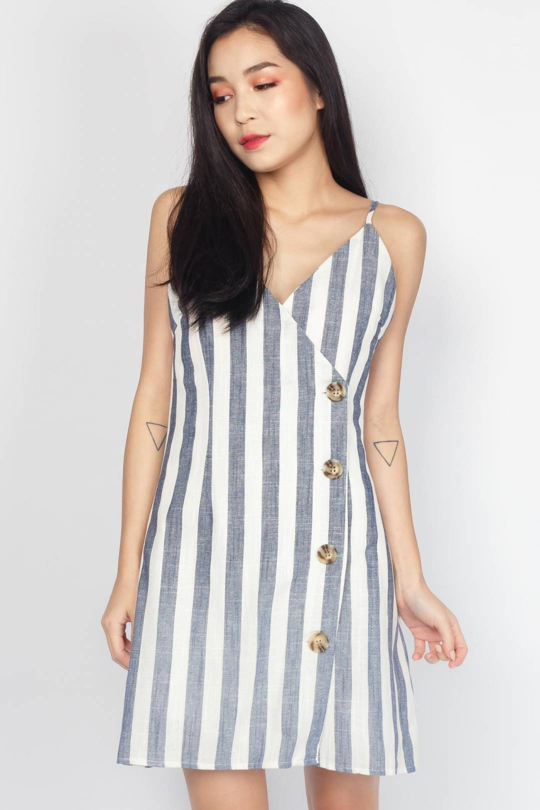 VAL Cross-Front Dress