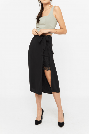 Quorna Lace Wrap Skirt
