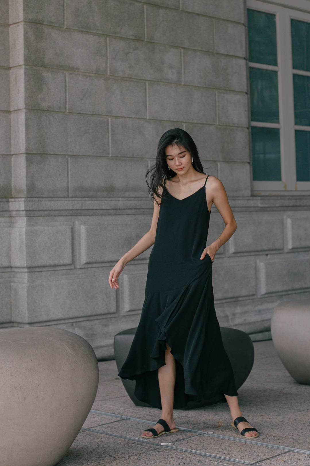 Easy Breezy Maxi in Black