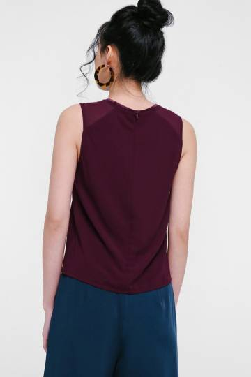 Inessa Piping Tank Top