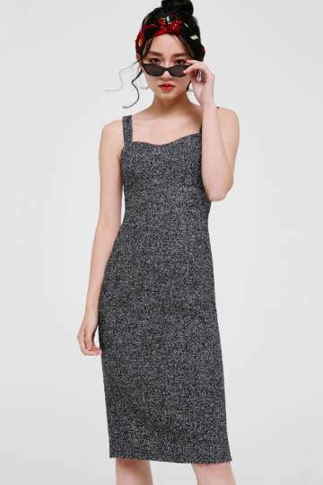Donna Tweed Pencil Dress