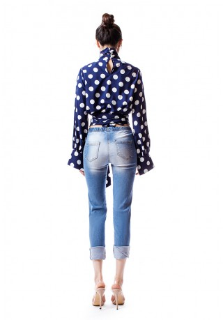 The Weekend Top (Polka Dot) SOLD OUT
