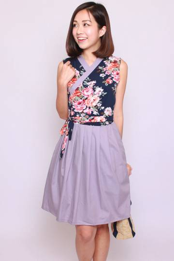 Annie Hanbok in Lavender (Tall)