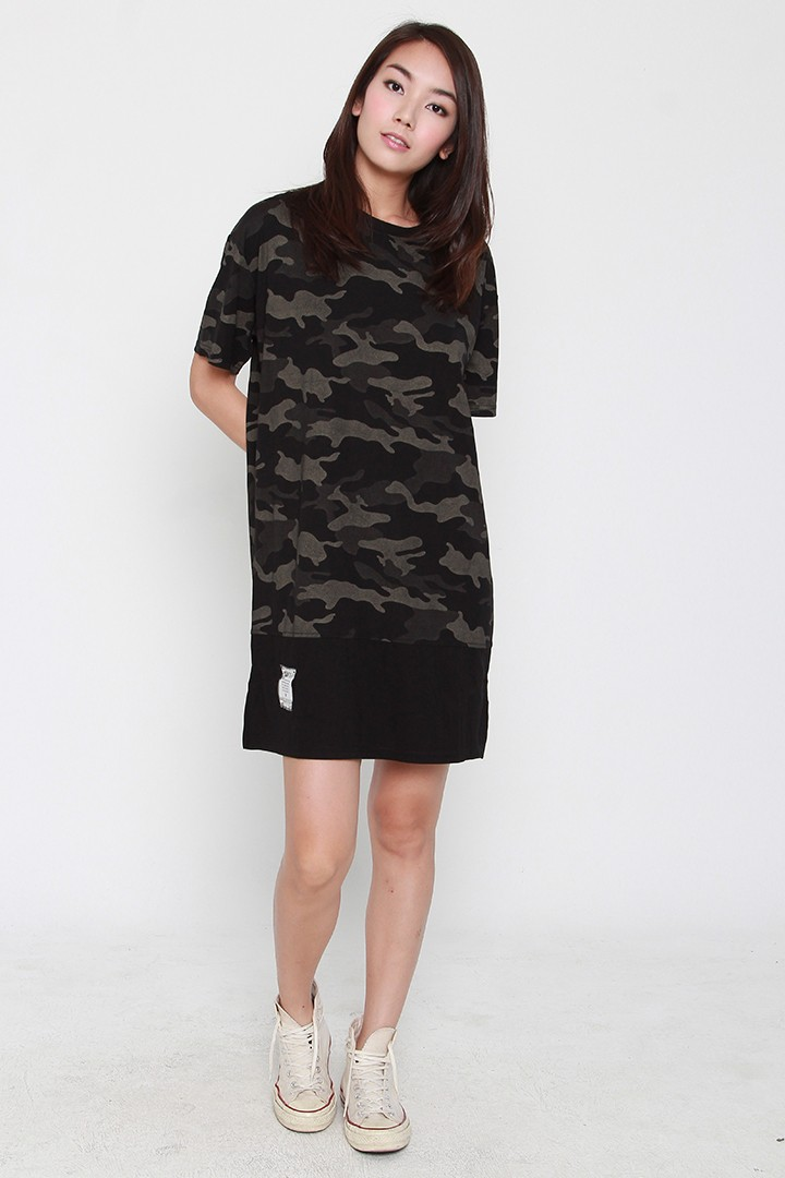 Backorders  Yulian Camo Dress