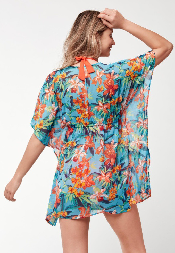 Nellie floral throwover