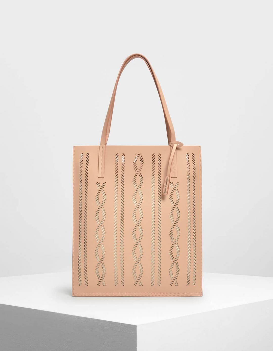 Laser-Cut Tote Bag