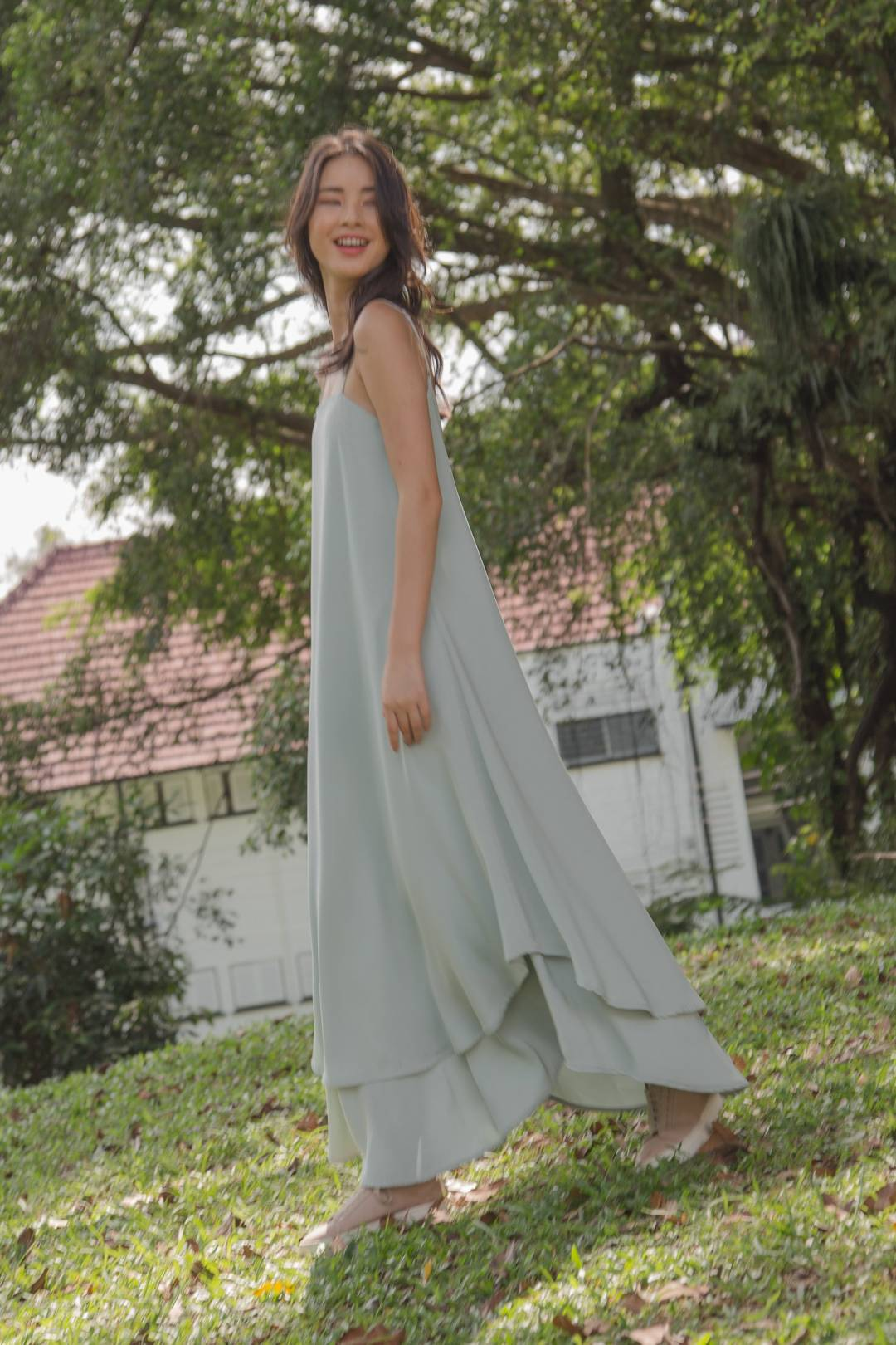 Swish Swish Maxi in Pistachio Green