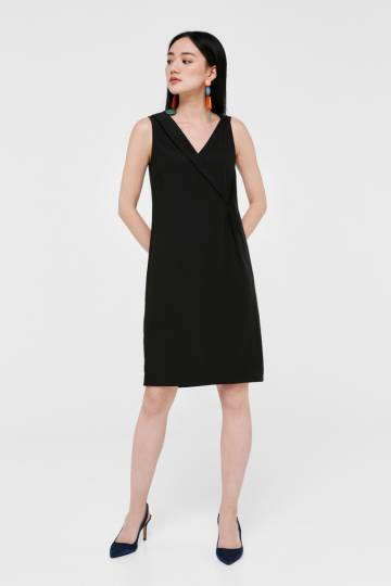 Alayna Crossover A-line Dress