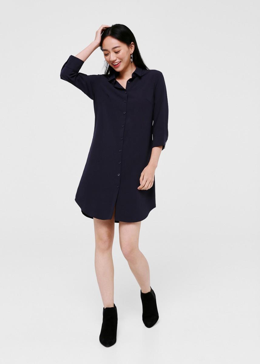Kendra Button Down Shirt Dress