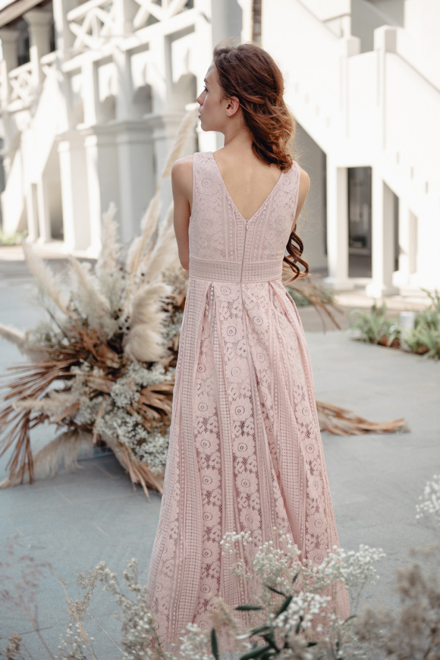 Our Story Within This Dress (Nude Pink)