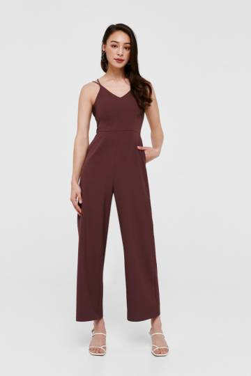 Peighton Cross Back Jumpsuit