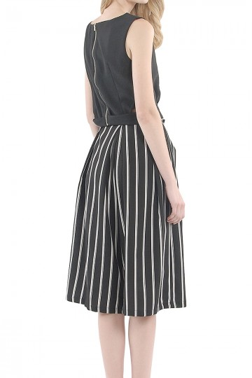 Twiggy Striped Culottes