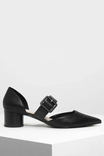 Mary Janes Buckle Pumps