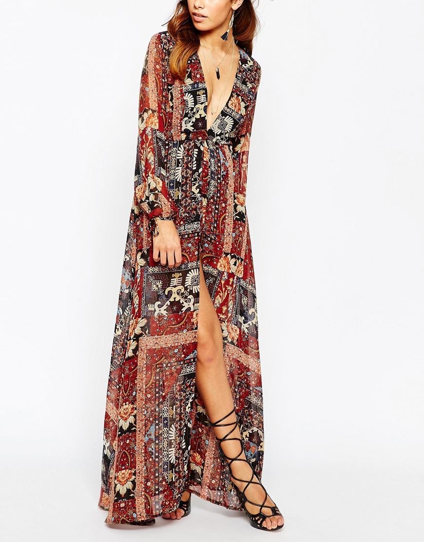 c2f487f2d96 Kiss The Sky Maxi Dress With Shorts - ShopperBoard