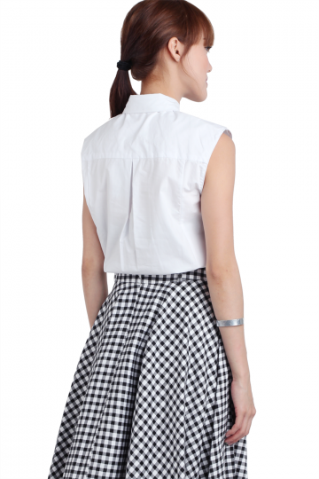 Polly Collared Shirt (White)