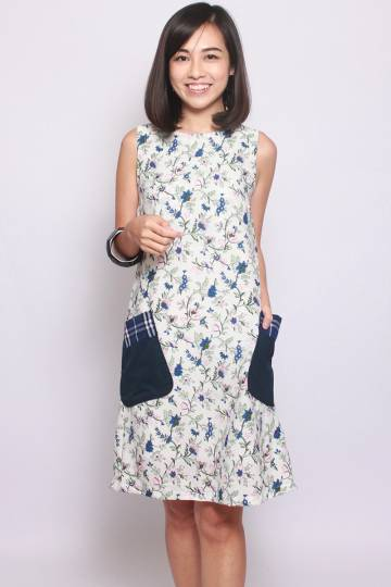 Claire Du Mon in Bluebell (Tall) - Easycare
