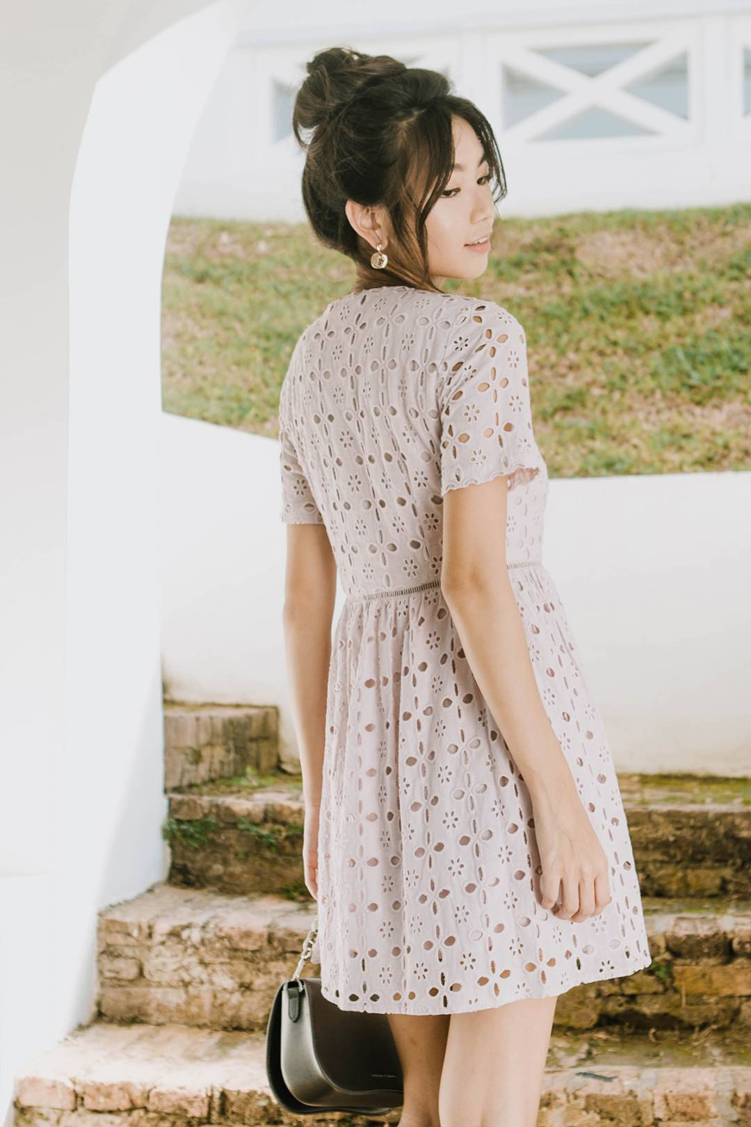 Fayette Eyelet Dress