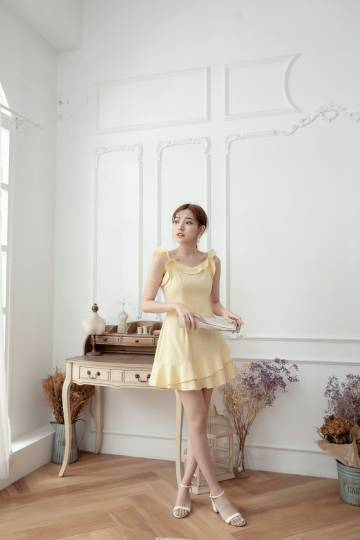 Wynk Dress Yellow