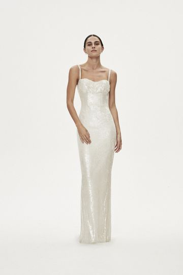 ALLESIO GOWN - IVORY