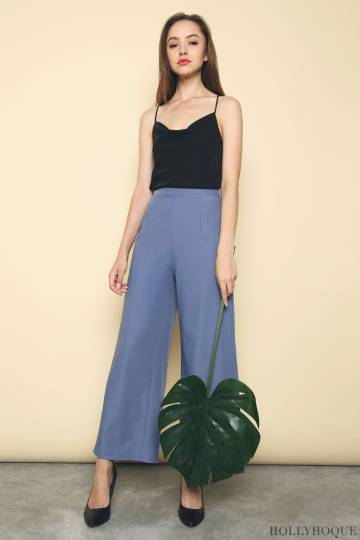 Alexis Straight Leg Pants Blue