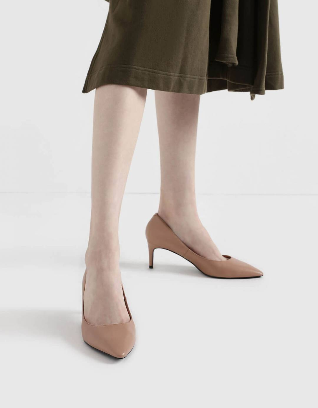 Classic Pointed Toe Pumps