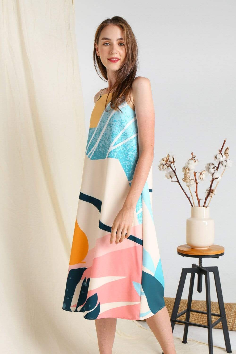 PEARADISE TENT DRESS IN CITRUS