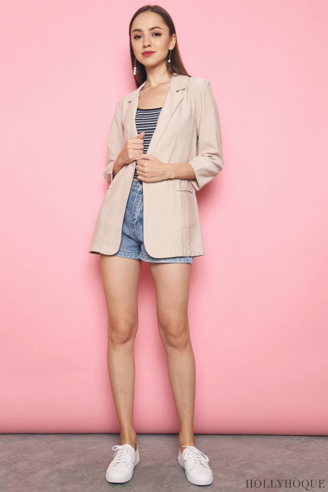 Axis Chic Blazer Malt (Backorder)
