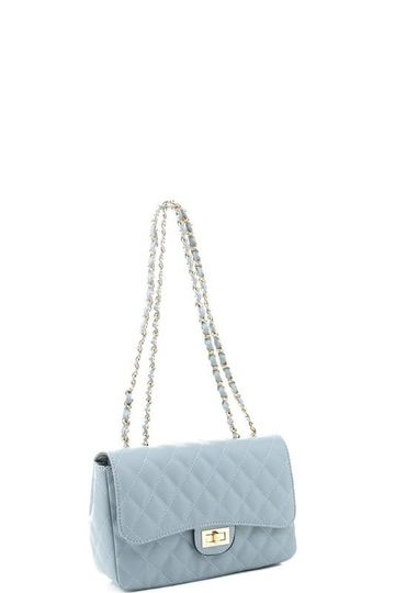 Name In City Lights Purse - Blue