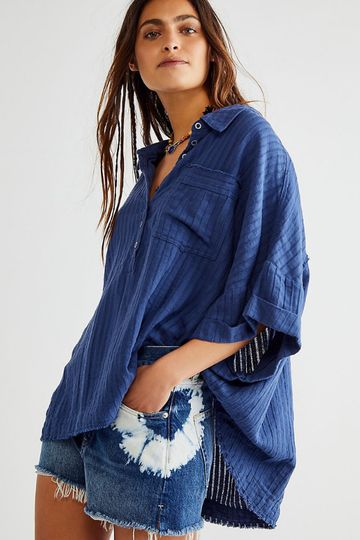 Free People | The Ava Top - Shaded Lake