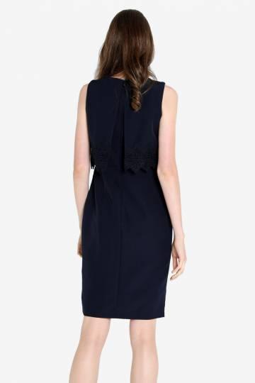 Kristeen Work Dress (Midnight Blue)