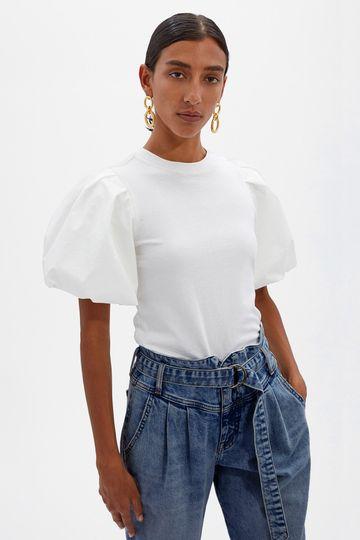 Denise Organic Cotton Top