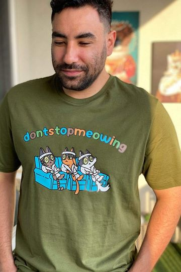 dontstopmeowing: Spa Cats Army Green Shirt