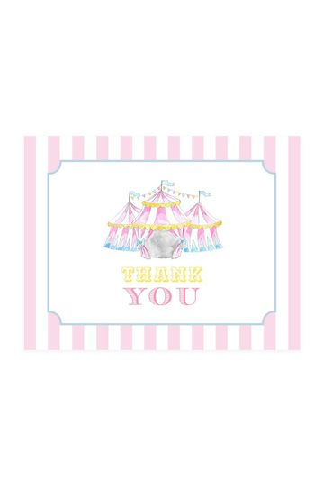Thank You Cards - Sweet Circus