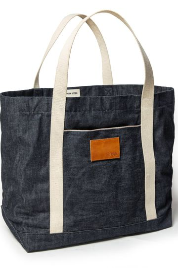 The Boat Tote in Cone Mills Reserve Selvage