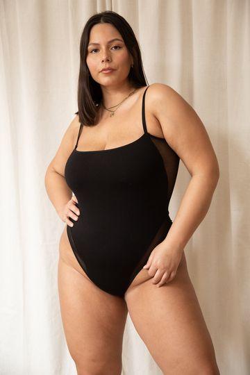 Nalini Bodysuit in Black