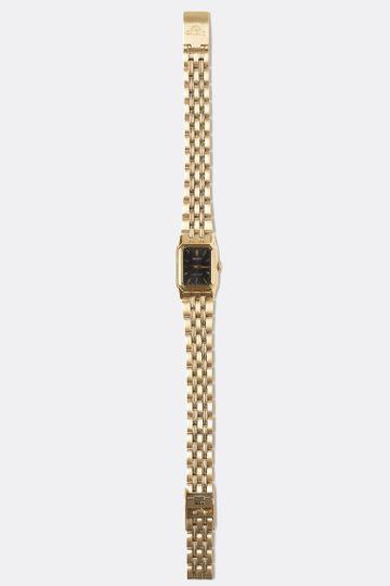 WCHA01B0 - Women's Gold Orient Square Watch
