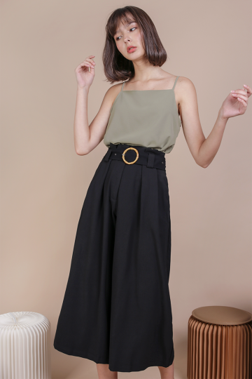 Ned Buckle Culottes (Black)