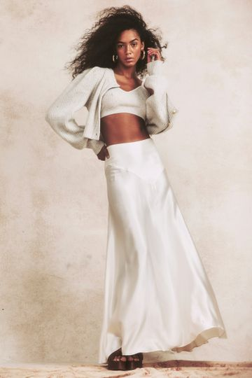 Ziggy Silk Maxi Skirt