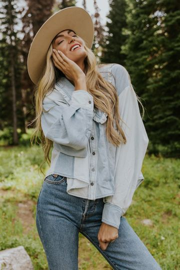 Free People Bexley Blouse